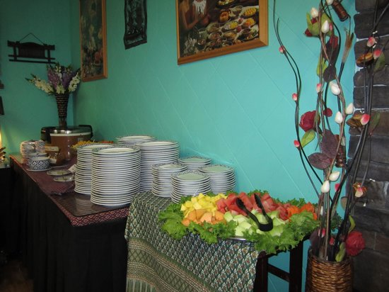 Juree's Thai Place Restaurant : ผลไม้ไทยหลากหลาย