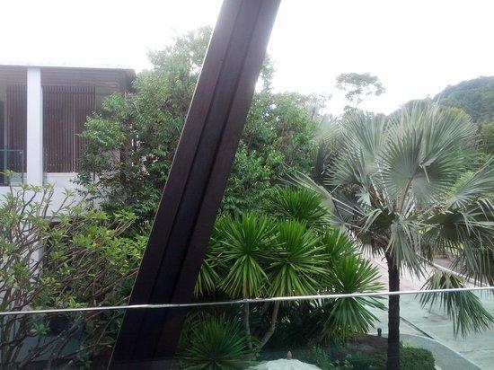 Wyndham Sea Pearl Resort Phuket: view from the restaurant balcory