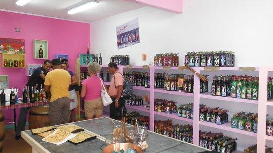 Cul de Sac, St Martin / St Maarten: Ma Doudou shop