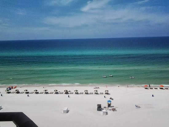 Sunbird Suites: beautiful view from our condo