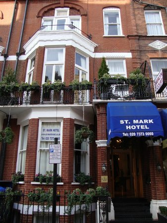 St. Mark Hotel: The Hotel from the Outside