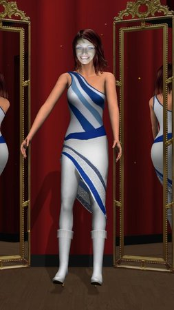 ABBA The Museum : Virtual costumes!