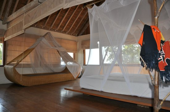 Segara Villas: Zimmer mit Blick auf's Meer im OG
