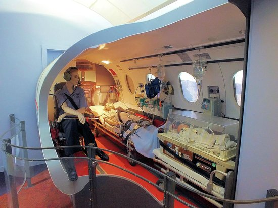 Royal Flying Doctor Service Tourist Facility: RFDS aircraft interior