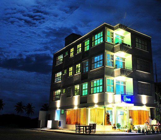 Hulhumale: Hotel Exterior