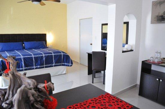 Pequeño Gran Hotel: Suite con Una cama king size