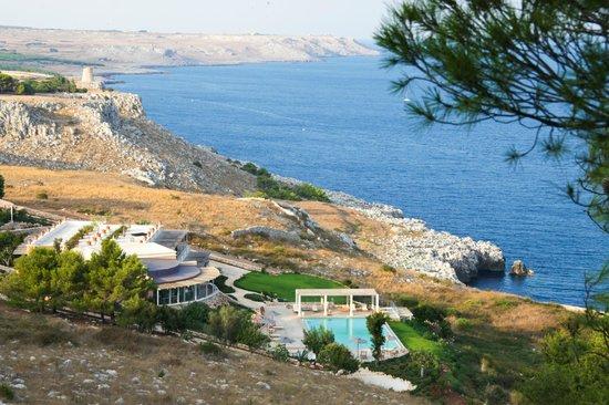 Le capase resort salento hotel santa cesarea terme - Ristorante bagno marino archi ...