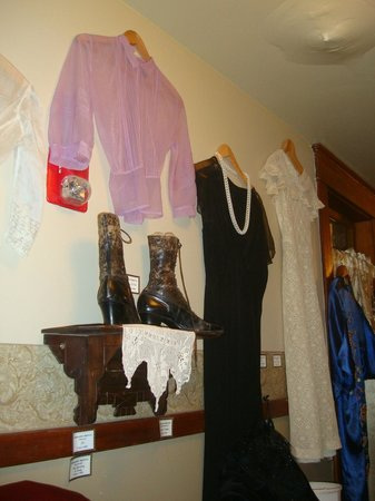 The Historic Occidental Hotel & Saloon and The Virginian Restaurant: Historical clothing