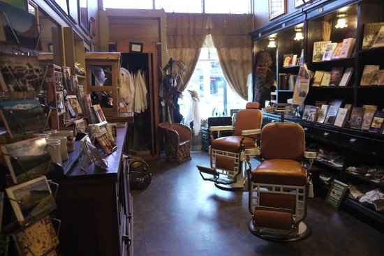 The Historic Occidental Hotel & Saloon and The Virginian Restaurant: Old Barber Shop
