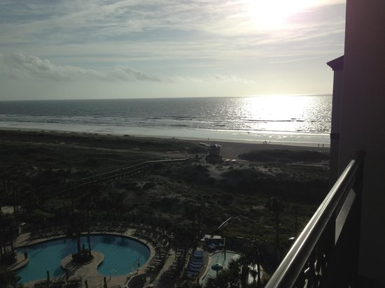 The Ritz-Carlton, Amelia Island: View for our balcony