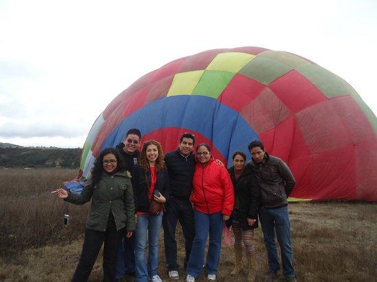 Vuelos en Globo Mx: Grupo de viaje