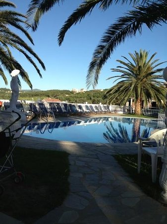 Tsaros Apartments: View from The Pool Bar