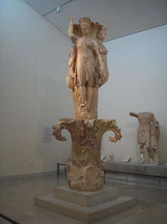 Delphi Museum, the Omphalos - Picture of Delphi ...