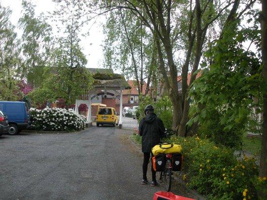 Steinkirchen, Alemania: Hotel entrance