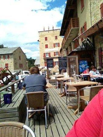 Cafe L'ermitage : Terrasse