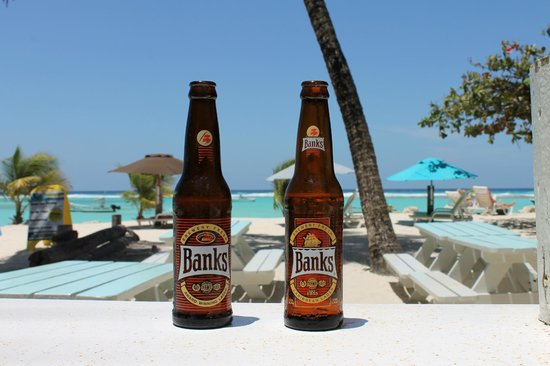 Carib Beach Bar: When in Barbados you have to drink Banks