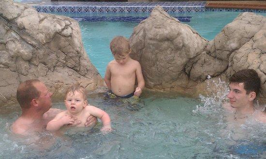 Radisson Hotel Corpus Christi Beach: The salt water jacuzzi