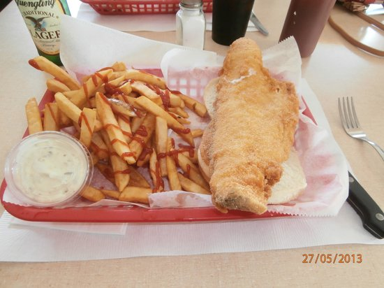 Mannsville, NY: The Fish Sandwich