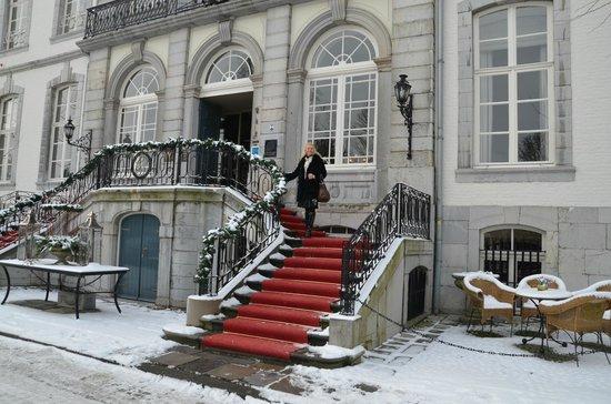 Kasteel Bloemendal: tapis rouge