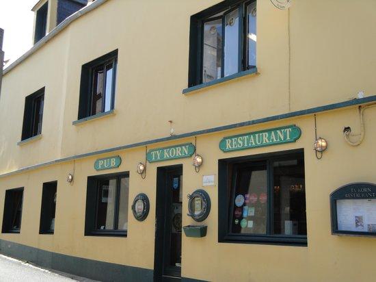 Ouessant, França: entrée du restaurant