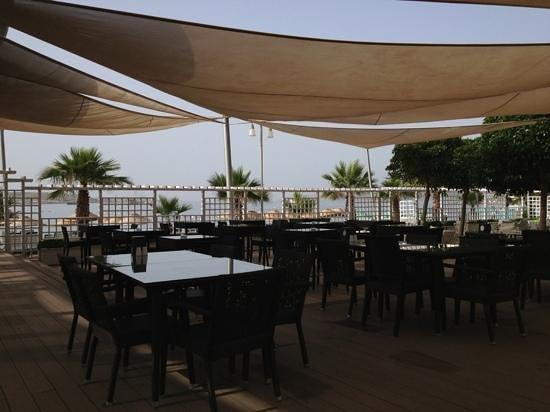 Magnific Hotel: Udsigt fra restauranten/baren