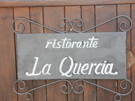 La Casella, Eco Resort: Restaurant sign