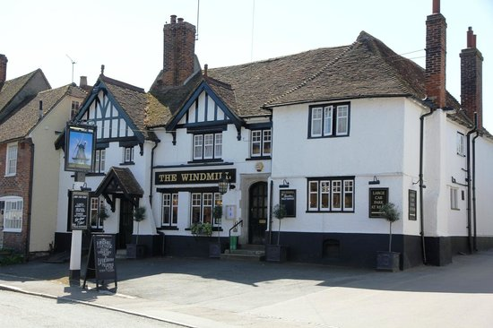 The Windmill: great food, relaxed atmosphere