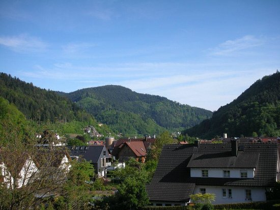 Hotel-Pension Cafe Schacher: View From Our Room