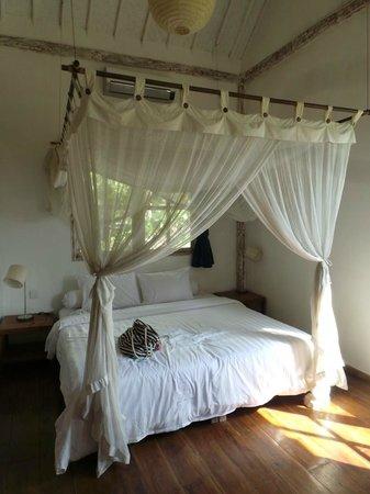 Gili Eco Villas: La Chambre