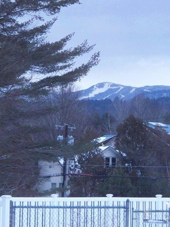 Golden Eagle Resort: View from my room in 2010, located near the Colonial Cafe.