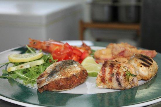 Villa Antica Dimora da Franco Smile: Antipasto di pesce