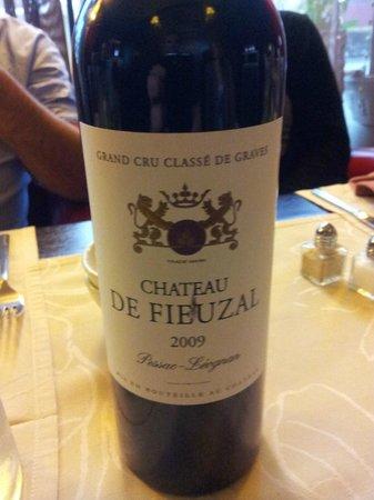Le Grill Nicolas : notre vin