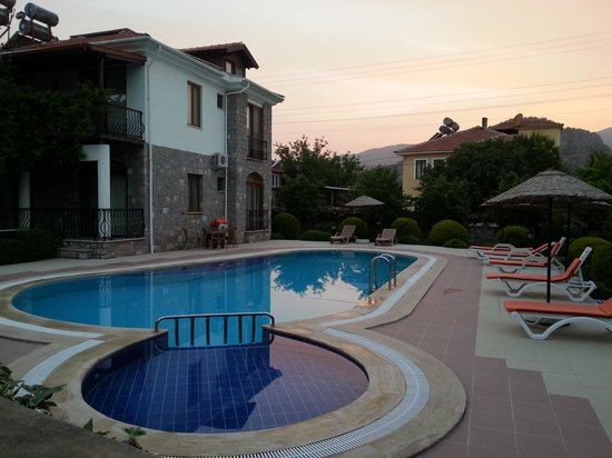 Iztuzu Apart & Villas: Fool moon evening at Iztuzu Villa 1