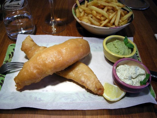 Art Home Restaurant : Fish And Chips