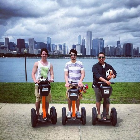Chicago Segway Tour: Great views of the city!
