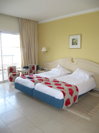 JAZ Tour Khalef Thalasso & Spa: Double room, bright and welcoming