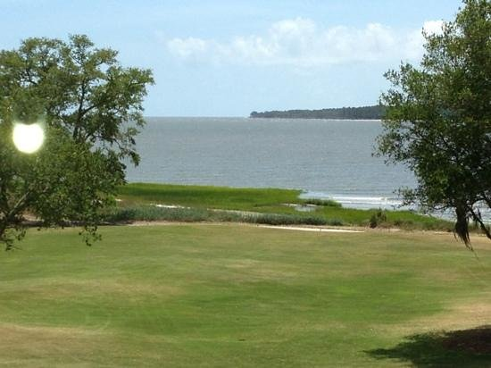 The Lodge at Sea Island: View from room 16