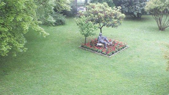 Park Hotel Villa Giustinian : Blick aus dem Zimmerfenster