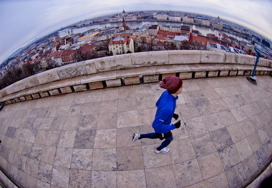Running Tours Budapest : In the Buda Castle