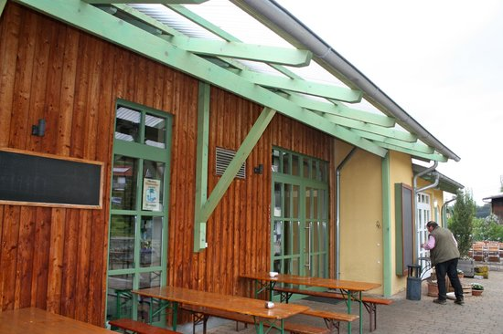 Schwaebisch Gmuend, Alemania: front patio