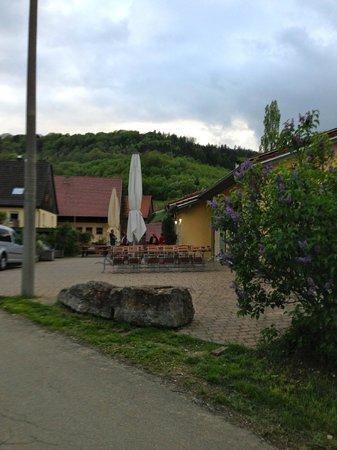 Schwaebisch Gmuend, Alemania: arriving