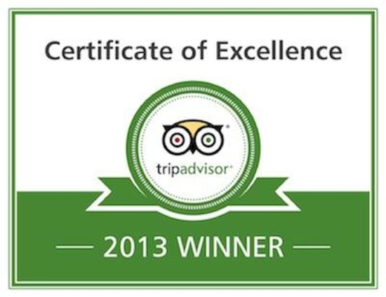 Duffy's Sports Grill: Certificate of Excellence