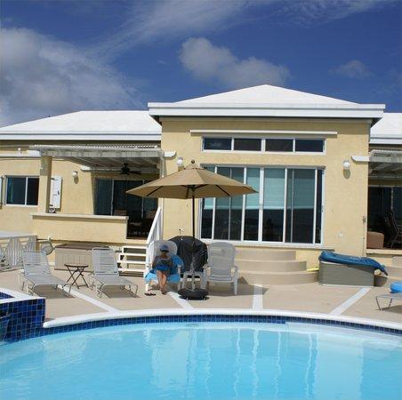 Villa Marbella Suites: Villa Marbella from Pool Deck