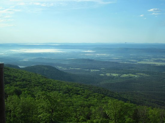 The Lodge at Mount Magazine: What a view!