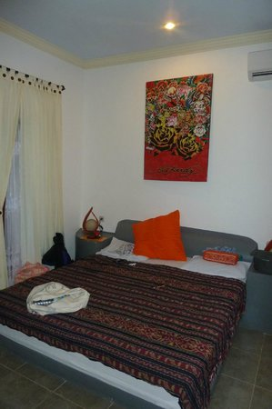 Gili T and B Homestay : Our bedroom