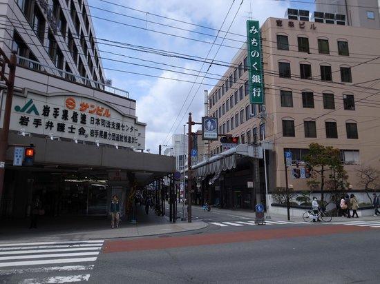 Morioka Odori Shopping Street