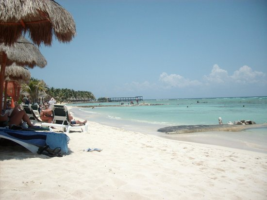 El Dorado Sensimar Riviera Maya: Beach