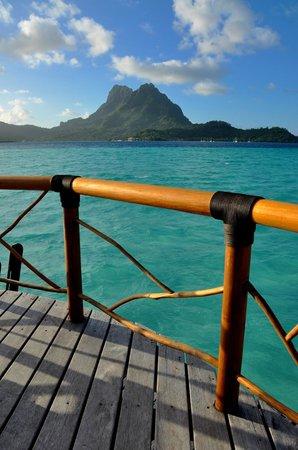 Bora Bora Pearl Beach Resort & Spa: Gorgeous views from bungalow 44