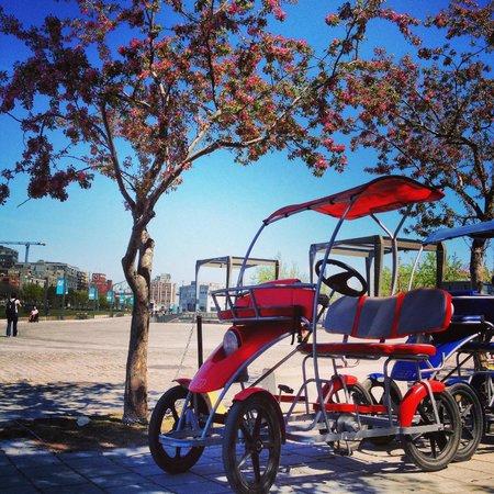Ecorecreo: Quadricycles
