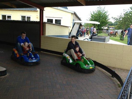 Cefn Mably Farm Park: Car Racing